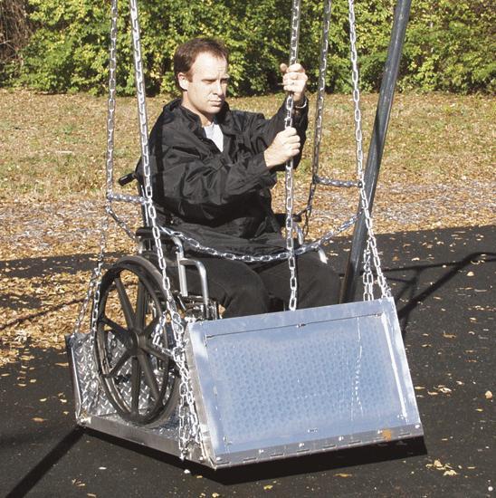 Wheelchair Swing Platforms Free Shipping