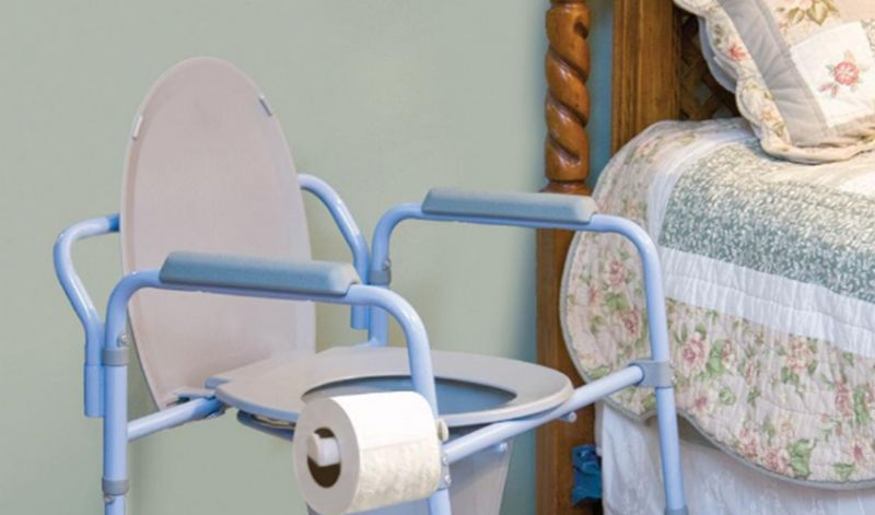The 5 Best Bedside Commodes and Toilet Chairs
