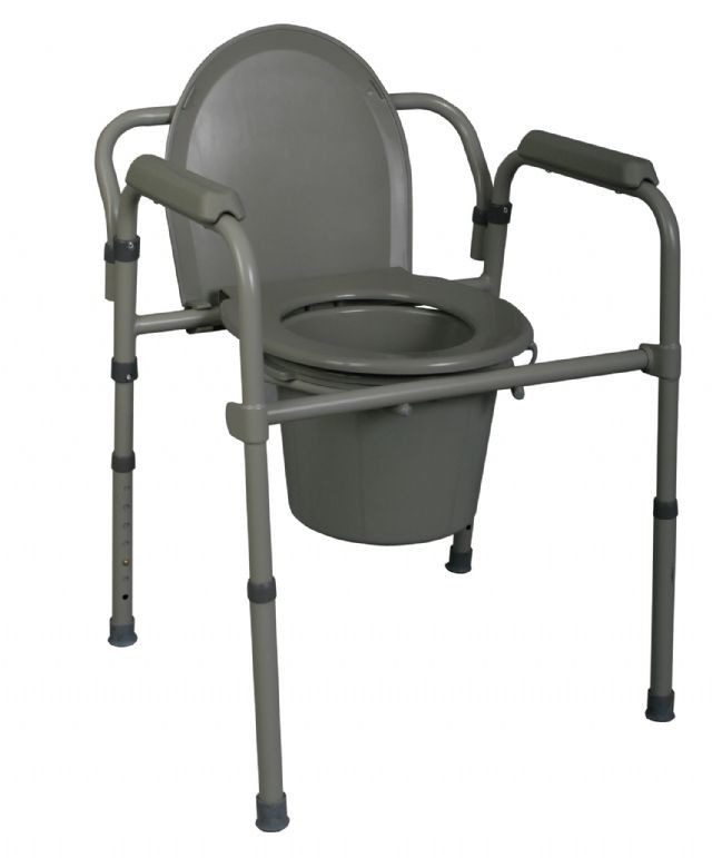 As the lowest priced model in our Top 5 the Medline Deluxe 3-in-1 Steel Commode is a very economical option for people who need a bedside toilet.  sc 1 st  Rehabmart.com & The 5 Best Bedside Commodes and Toilet Chairs