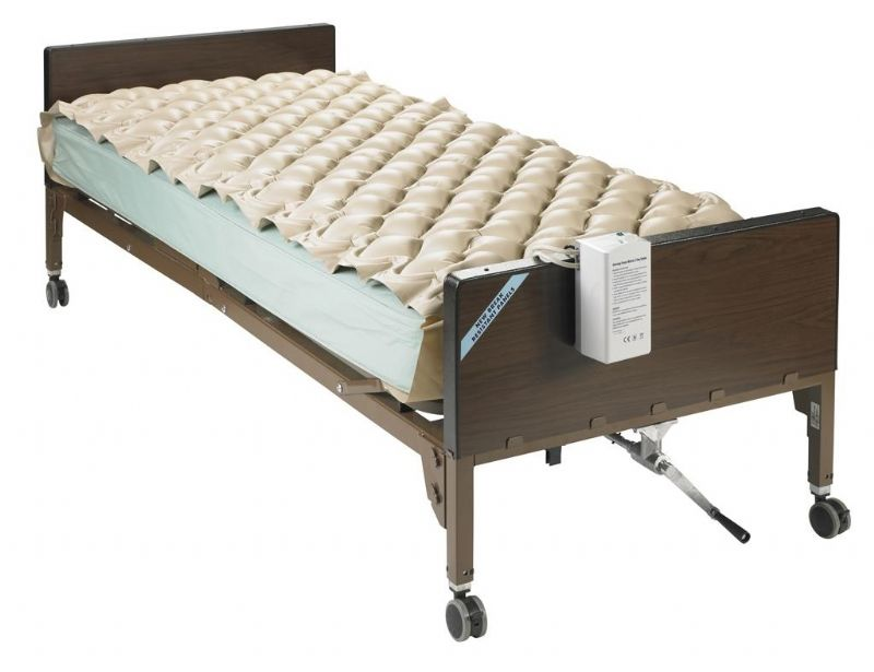 The Med Aire Alternating Pressure Pump With Pad System Is A Superior High Tech Mattress Choice For Patients In Need Of Relief