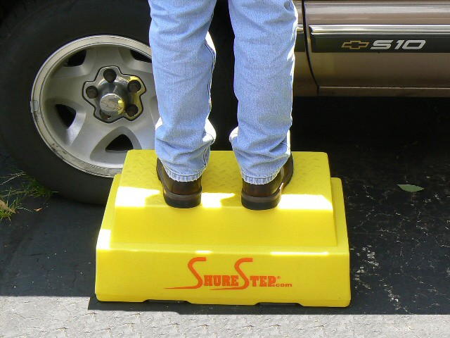 Shure Step The Safest Step Stools In The World