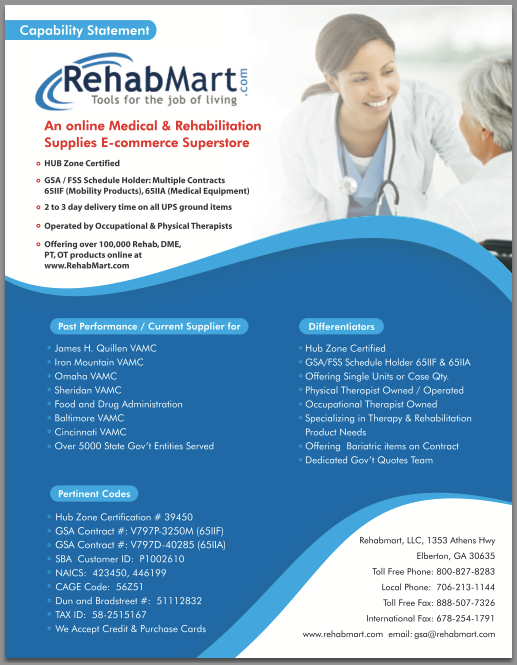 Hub Zone Certification For Rehabmart Com