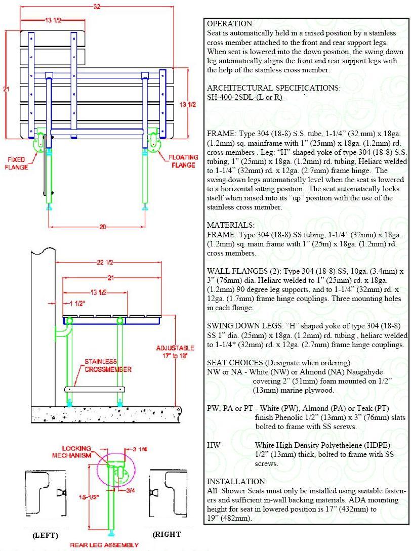 Folding Shower Transfer Bench Buy Now Free Shipping