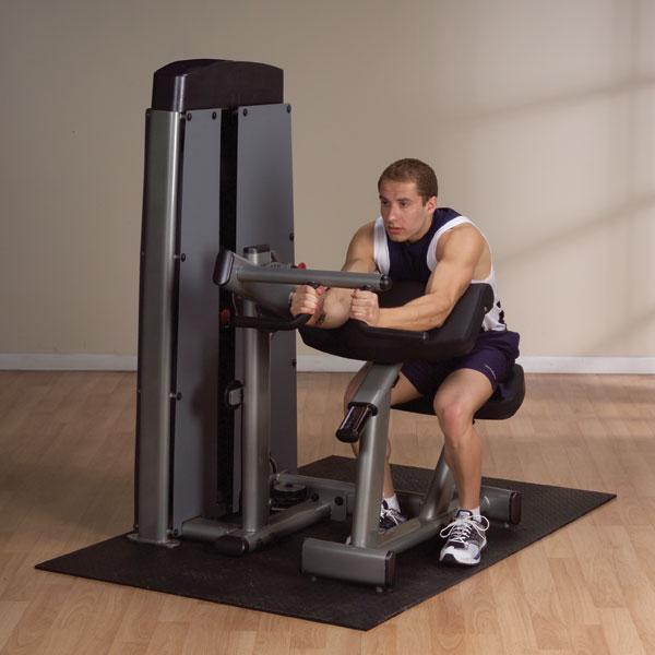 Body Solid Pro Dual Bicep And Tricep Extension Machine