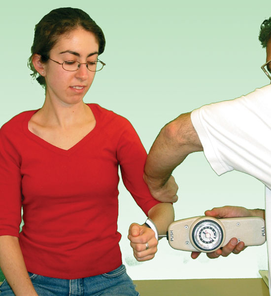 Hand Held Dynamometer For Muscle Strength : Baseline hydraulic push pull dynamometer