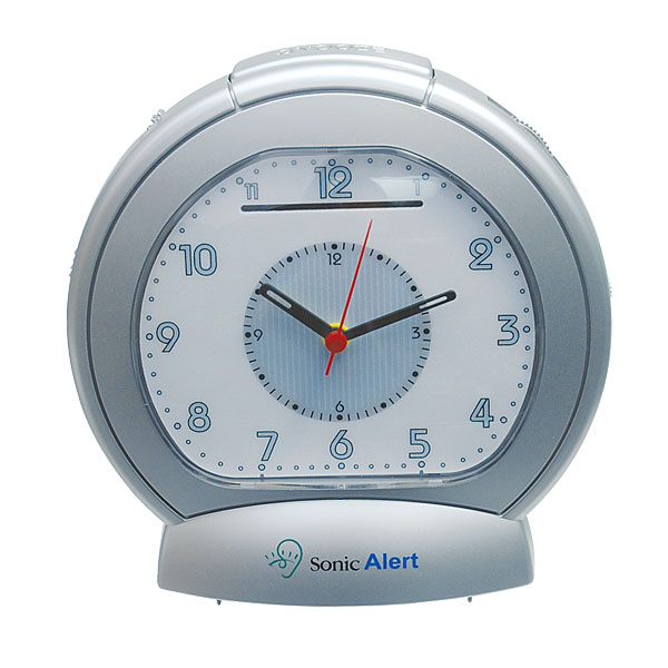 sonic boom analog vibrating alarm clock free shipping. Black Bedroom Furniture Sets. Home Design Ideas