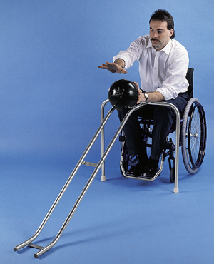 Wheelchair Adaptive Bowling Ramps For The Disabled