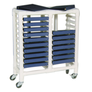 Notebook Chart Rack 20 Binder Spine Less Than 2 3 4in