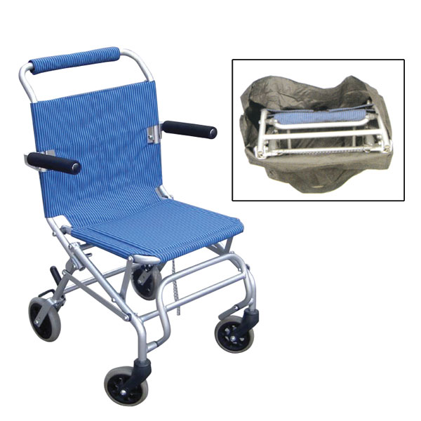 Drive Medical Super Light Folding Transport Chair With