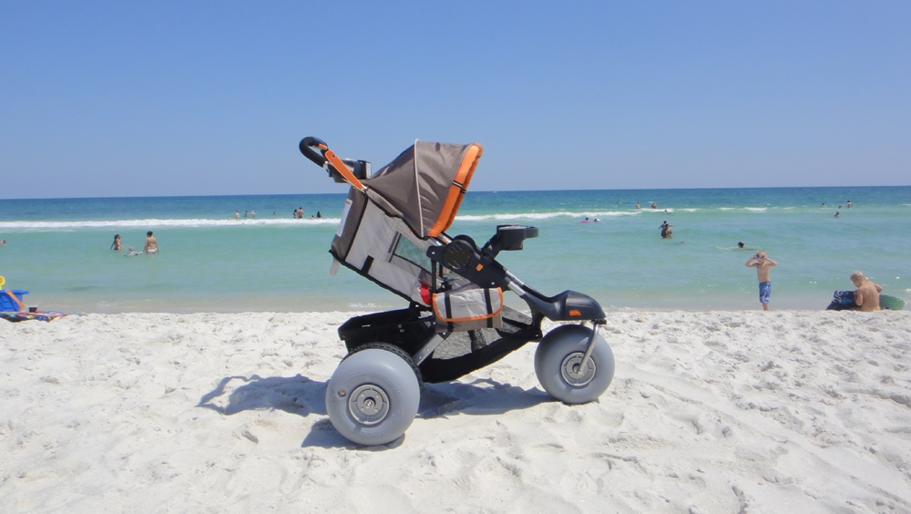 Moreover The Baby Bug Beach And Jogging Stroller Is Not A One Time Product Its Multi Position Reclining Seat Can Accommodate Infants Up To 40 Lb