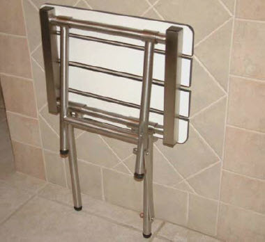 Small Bariatric Shower Bench - FREE Shipping