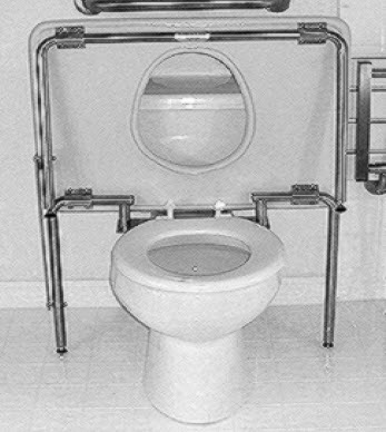 Residential Toilet Transfer Bench - FREE Shipping