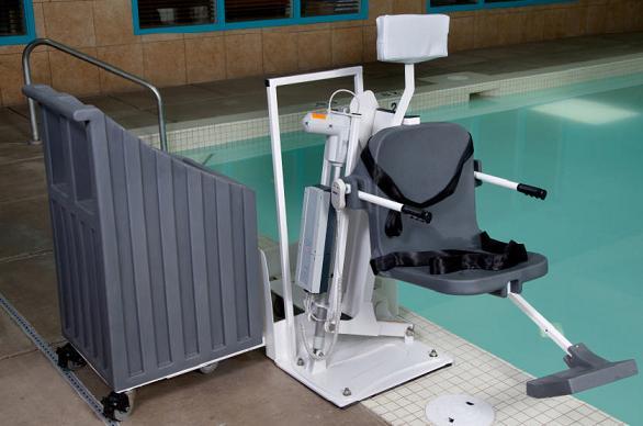 Aqua Creek Patriot Portable Pool Lift Free Shipping