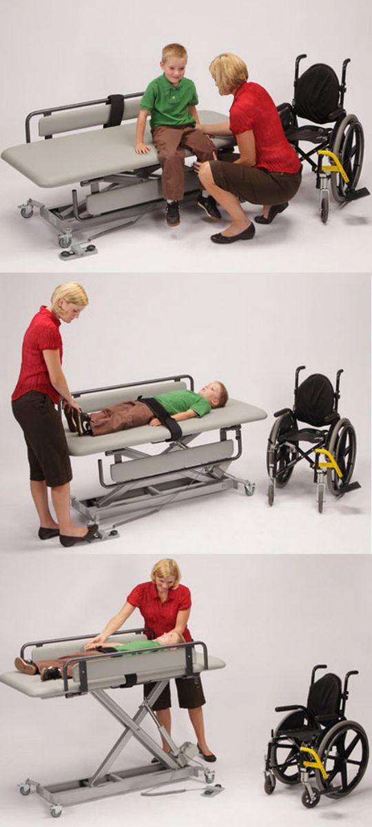 Infinity Adjustable Mobile Changing Table - Disabled changing table