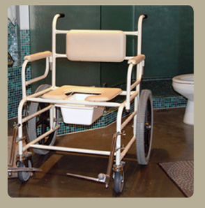 Bariatric Extra Wide Shower Commode Chair