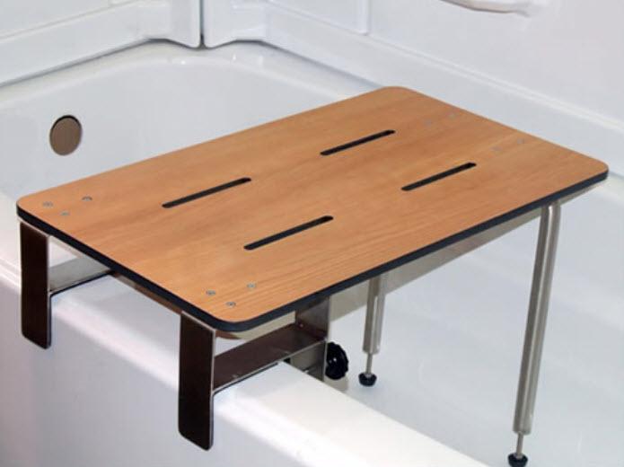 ADA Compliant Portable Clamp-On Tub Seat