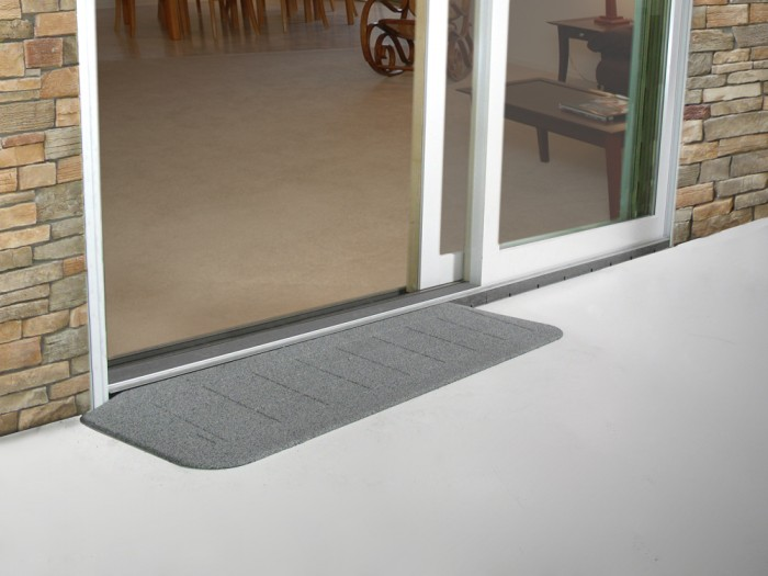 Safepath Ezedge Smooth Rubber Threshold Ramp