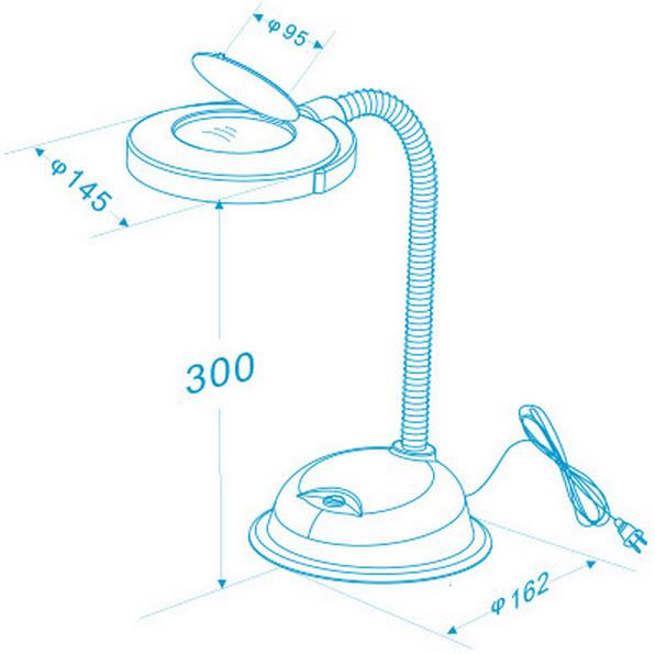 OptiVue LED Magnifying Desk Lamp – Led Magnifying Desk Lamp