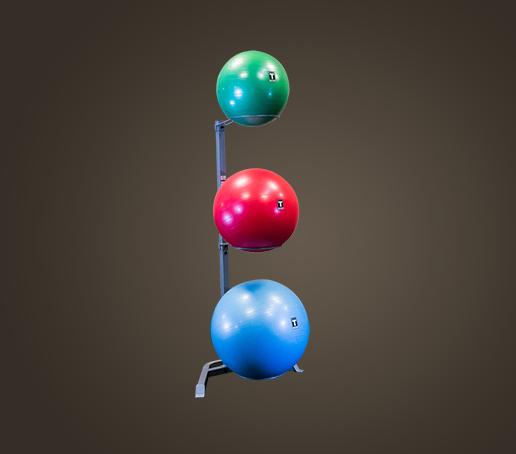Stability Ball Wall Rack: Stability Ball Storage Rack