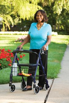 Step N Rest Rolling Walker For Sale Free Shipping