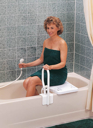 more information the portable bath bench
