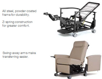 Champion Ascent Series 65 Treatment Recliners