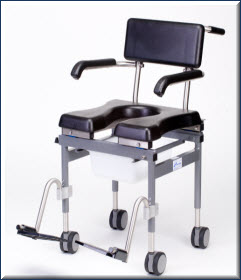 Versa Shower Commode Chair Shower Commode Chairs