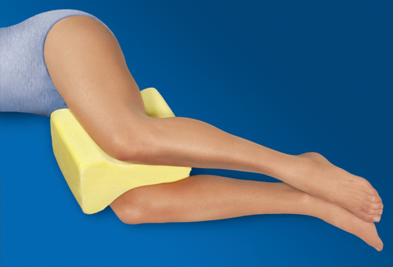 Contoured Leg And Knee Pillow For Sale