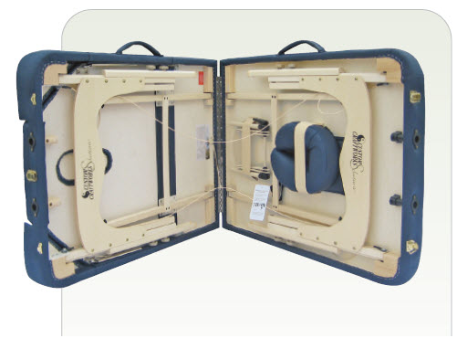 Destiny Lift Back Portable Massage Table