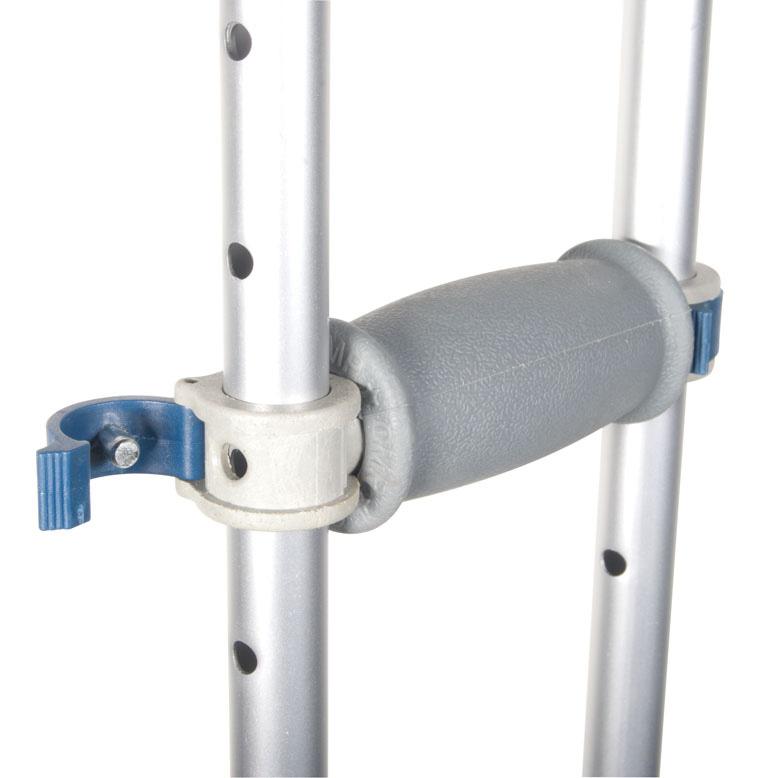 how to make crutches more comfortable