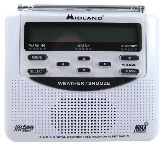 Midland Weather Alert Radio Free Shipping