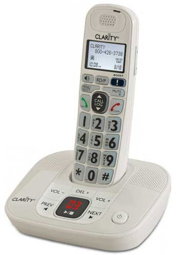 cordless phone with answering machine for hearing impaired
