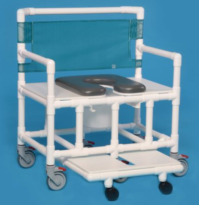 Soft Seat Bariatric Shower Commode Chairs