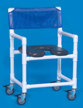 Soft Seat Rolling Shower Chair - FREE Shipping