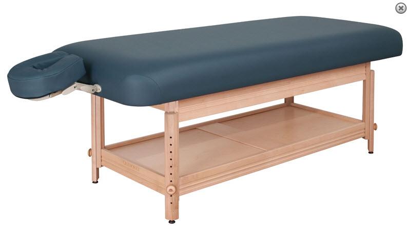 Genial Oakworks Clinician Adjustable Treatment Table