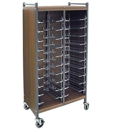Superior Standard Horizonal Cabinet Chart Rack   #264562