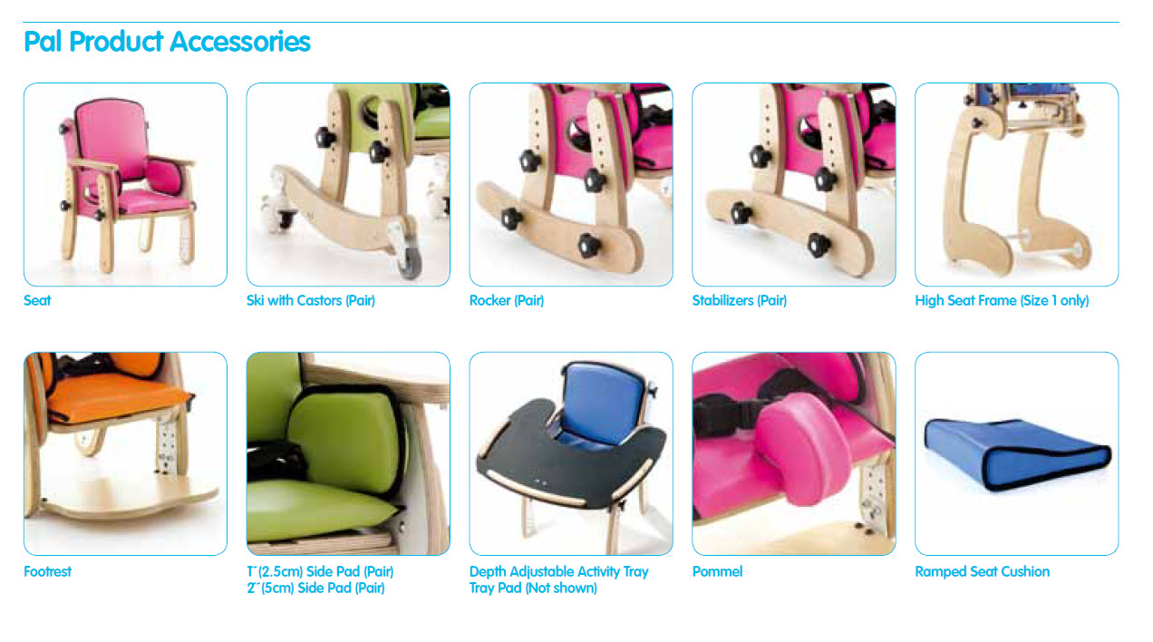 Pediatric Pal Classroom Seat For Improved Stabilization