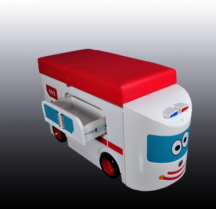 Fire Truck Pediatric Examination Table Free Shipping