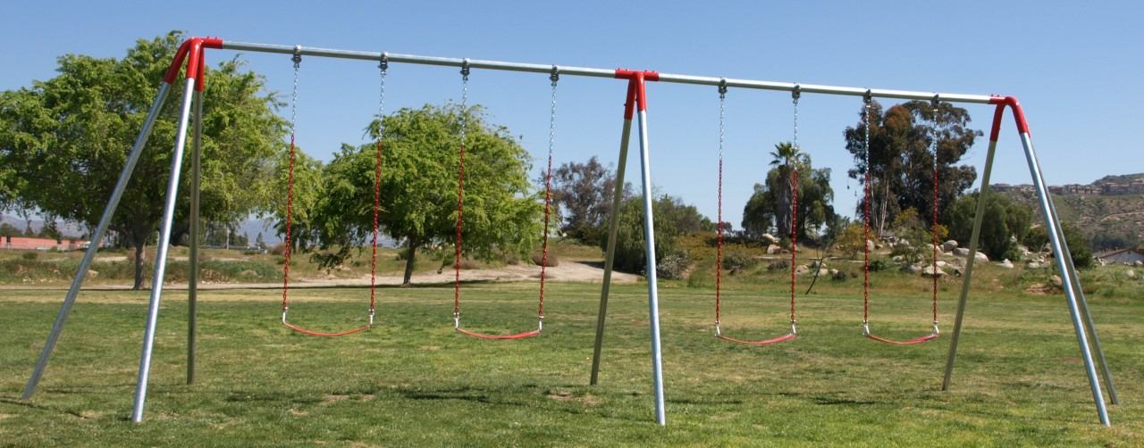 heavy duty commercial metal swing sets - Commercial Playground Equipment