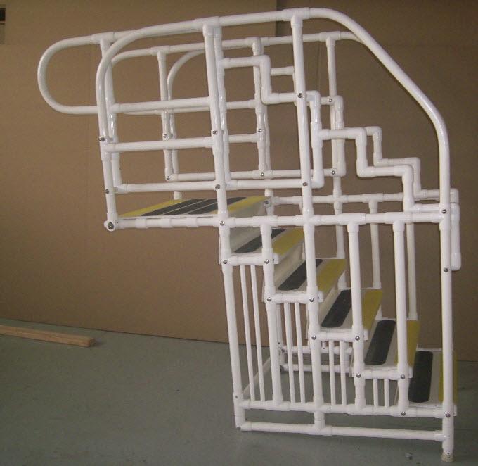 Aquatrek Ada Compliant Pool Ladder Pool Steps And Ladders