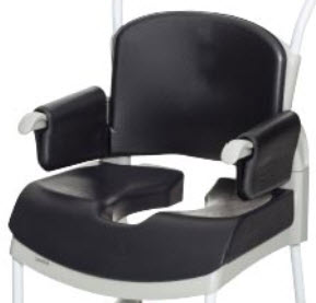 optional accessories for etac clean shower commode chair