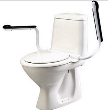Etac Supporter Toilet Arms Free Shipping