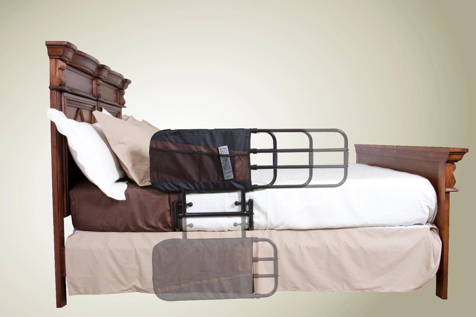 EZ Length Adjustable Bed Assist Rail