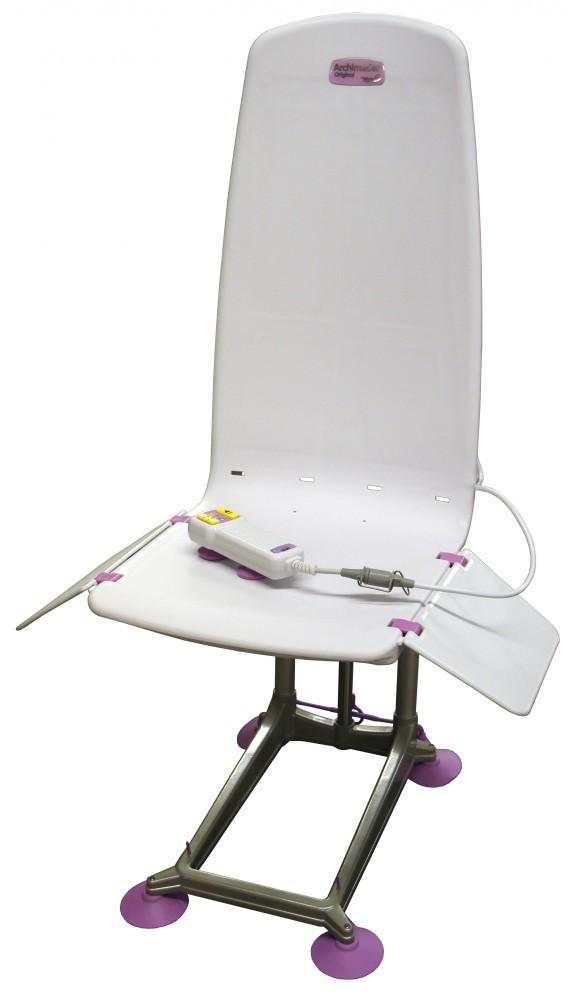 rare archimedes mangar bath tub lift chair battery