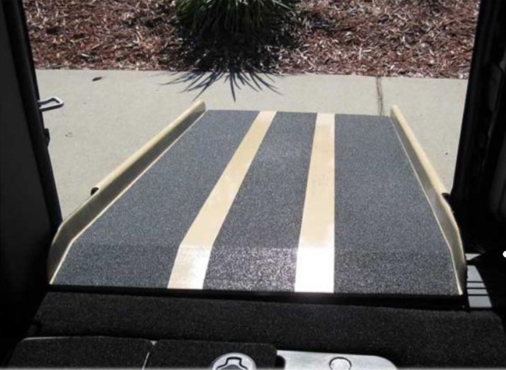 portable wheelchair ramp for vans