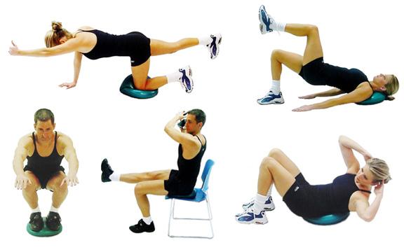 Balance Exercises Dyna Disc Balance Exercises