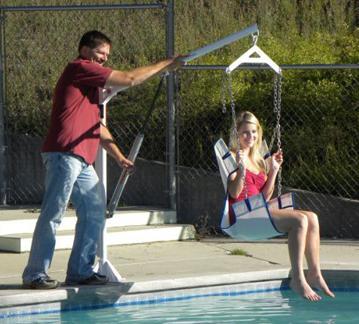 Aqua Creek Ez Pool Lift On Sale Free Shipping
