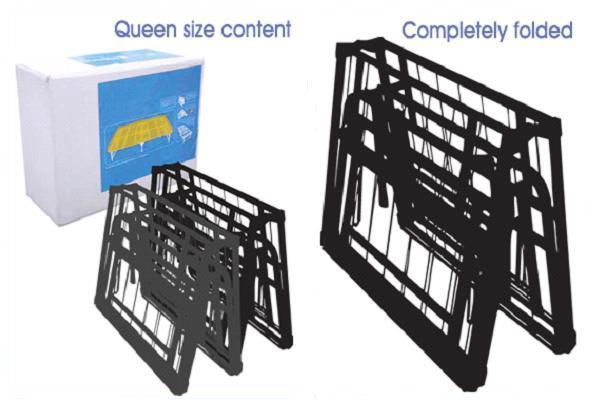 Pragma Quick Fold Bed Frame System Folding Bed Frame