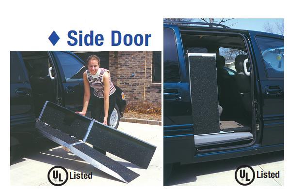 Wheelchair Ramp For Van >> Van Wheelchair Ramp - Foldable - FREE Shipping