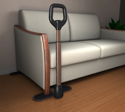 Couch Cane Sit To Stand Mobility Handle With Organizer Pouch